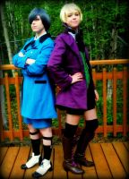 Ciel and Alois by angelbelievers