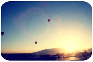 Hot Air Balloons by NaneeViolence
