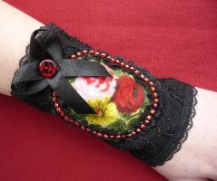 Royal Cuff with Roses by Estylissimo