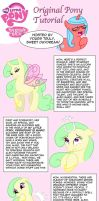 MLP FIM Original Pony Tutorial by Tprinces