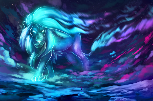 Aurora Lion by AuroraLion
