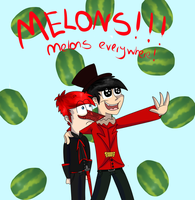 MELONS! by dragonwolfgirl1234