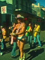 The Naked Cowboy by AccountConquest