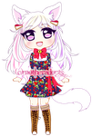 RF Cheesecake Kitty OFFER TO ADOPT [CLOSED] by MotherAdopts