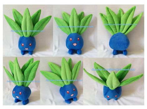 Oddish by Feneksia-Creations
