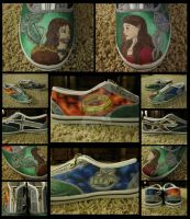 LotR Shoes by ChemicalRejectBoys