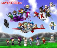 ADVENTURERS Epic by Warran