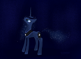 Princess Luna HD iPad Wallpaper by Sludge888