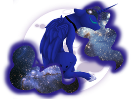 Princess Luna by darkstripekitty