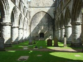 Dunkeld Cathedral I by Wisebird