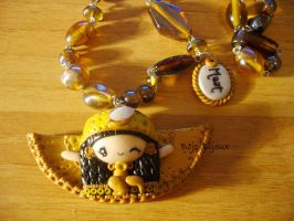 Necklace 'Gooddess Maat' n1 by Bojo-Bijoux