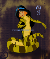 Commission-Jasmine Snake by Nippy13