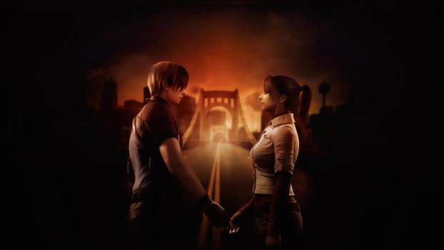 Leon + Claire. We must stand together by push-pulse