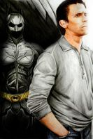 Bruce Wayne and his dark side by JawZ270589