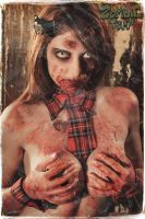 Zombie Tramp Poster 2 by LillyLeeModel