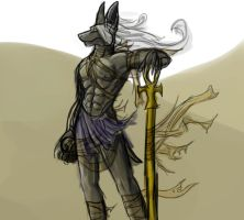 Anubis? by Taillone
