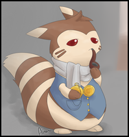 Fancy Furret by Airenu-ish