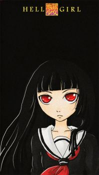 Enma Ai: hell girl by Yuri-hime