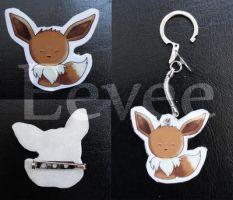 example pokemon eevee by I-Am-Bleu