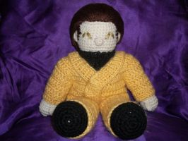 Loreplushie in yellow jumpsuit by MasterPlanner