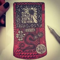 Zentangle GBC by playground-plague
