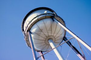 Water Tower II by KingPinPhotography