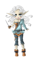 :PC: Elven Fighter by Suesanne