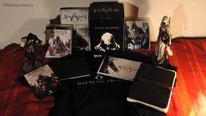 My Assassin's Creed stuff xD by MartyIsi