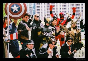 MARVEL group 1 by Tokyo-Trends