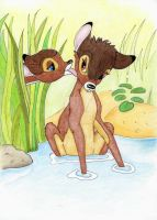 Bambi and Faline 2 by mojojul