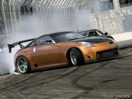 Nissan 350z Drift by roobi