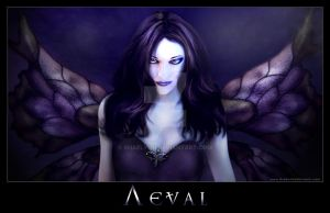 Aeval, Dark Faery Queen by Shaelynn