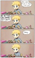 It's Butters by KataChan