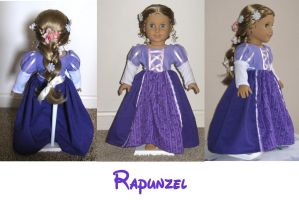 American Girl Doll Rapunzel by ProtectorKorii