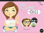 Comp Doll (.PSD) by Isfe