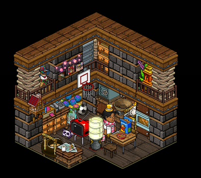 Small living room by Lannyhabbo