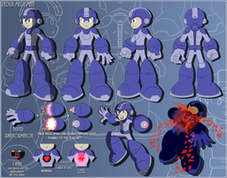 Mega Man Redux's Mega Man Sheet / Announcement by JusteDesserts