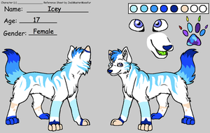Icey by Girleroyblue105