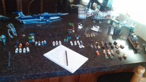 LEGO Star Wars Themed Tabletop Game by Chuddamann