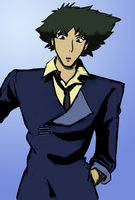 Spike Spiegel - Colored by chr5d50