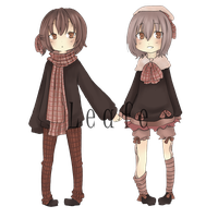 Adopt PAYPAL - Fall Twins closed by Leafei