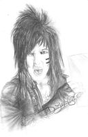 Jake Pitts and his 'Grrrrrr Face' XD by Jei-Dinofelini