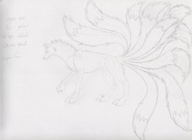 Ten Tails Ref WIP by lucidcoyote