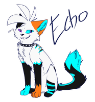 :CO: Echo-the-half-cat by Tobicakes