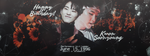 [BANNER] Happy Birthday Soonyoung! by Brianna3131