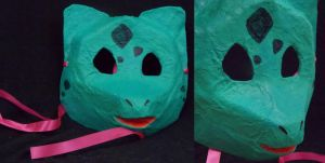 Bulbasaur Mask by CalicoNorth