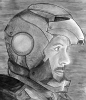 I AM IRON MAN by acid-drinker