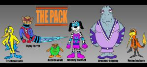 The Pack by Lordwormm