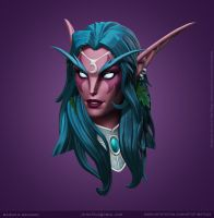 Tyrande Whisperwind by Mateussm