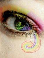 Colourful tears of joy by Sims2tam